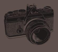 Camera Illustration Kids Clothes