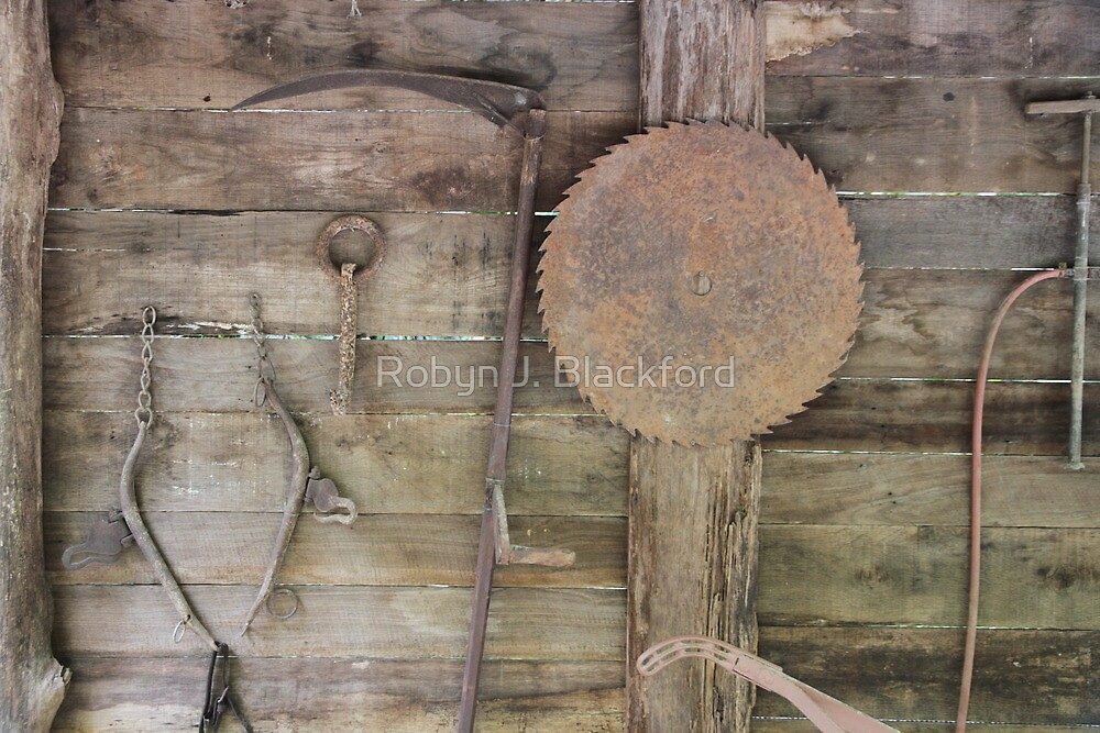 Tools From The Past by aussiebushstick