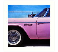 Pink Coronet Art Print