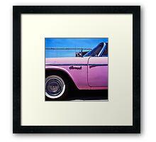 Pink Coronet Framed Print