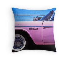 Pink Coronet Throw Pillow