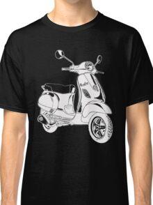 Modern Scooter Illustration Classic T-Shirt