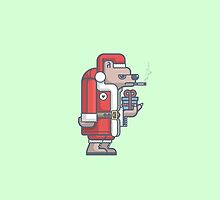 Grumpy Christmas Bear by fabric8
