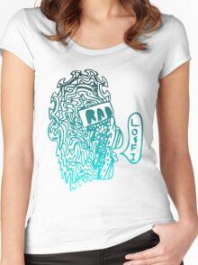 lofi is rad Women's Fitted Scoop T-Shirt