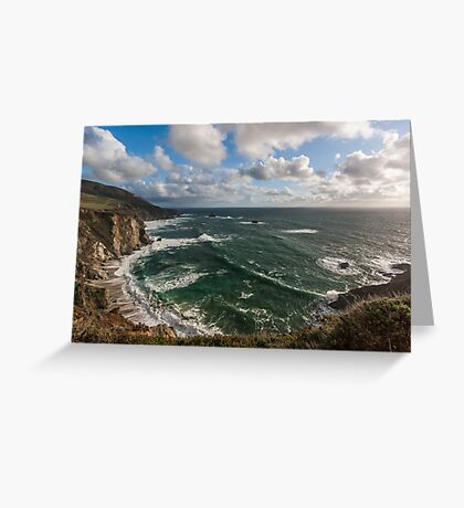 At Big Sur I Greeting Card