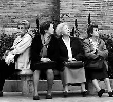 The Girls do NOT agree:)... by Berns by Shot in the Heart of Melbourne, 2013
