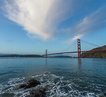 Golden Gate from Horseshoe Bay by Richard Thelen