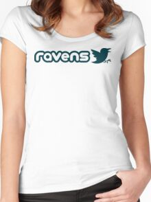 Ravens Women's Fitted Scoop T-Shirt