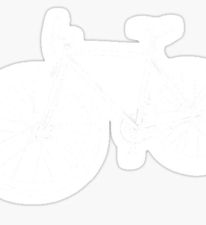 Bicycle Illustration Sticker