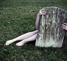 She Hides Behind Her Own Grave by samanthapugsley