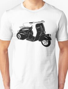 Classic Scooter Illustration T-Shirt