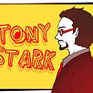 Tony Stark by willanilla