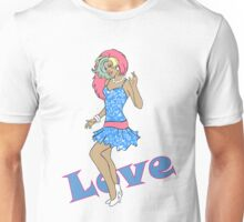 80s Cartoon Pinup Love Unisex T-Shirt
