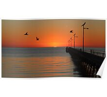 Fowlers Bay Sunrise Poster