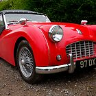 Triumph TR3 Sports Car by alan tunnicliffe