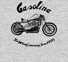 Gasoline Scooters & Motorcycles Zipped Hoodie
