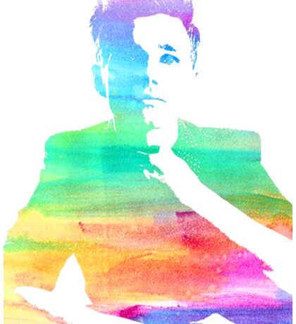 rainbow chris Sticker