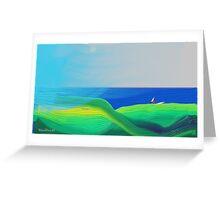 Sea View Memory Greeting Card
