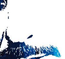 rdj in blue Sticker