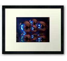 ©DigiArt Over Blur Sphere Framed Print