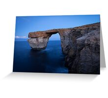 Azure Window Greeting Card