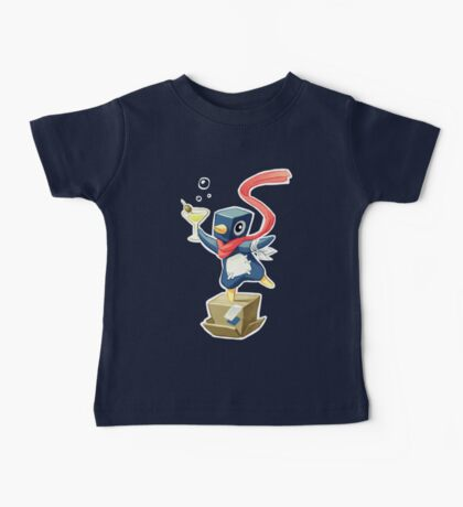 Party Penguin Baby Tee