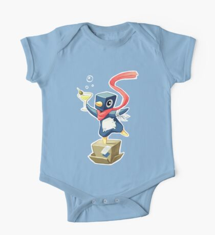 Party Penguin One Piece - Short Sleeve