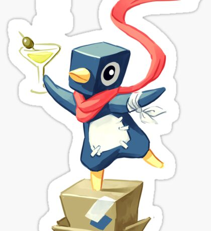 Party Penguin Sticker