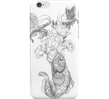 Butterfly Shrimp iPhone Case/Skin