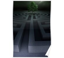 Tree into the maze Poster
