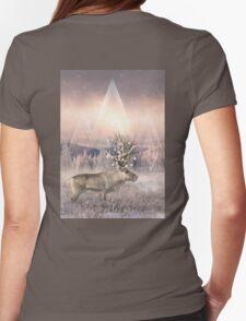 Stillness of Winter Womens Fitted T-Shirt