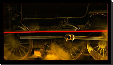 Train wheels 01 by kevin chippindall