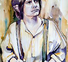 Bilbo Baggins by Slaveika Aladjova