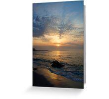 Sennen at sunset Greeting Card