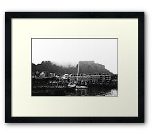 Cape Town Waterfront Framed Print