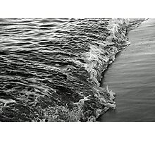 Lapping the shoreline Photographic Print
