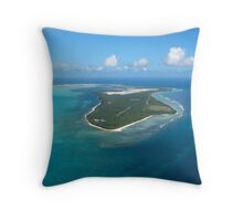 Gateway to Paradise Throw Pillow