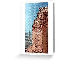 ruined wall Greeting Card