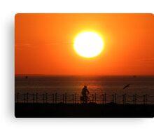 Herne Bay Sunset Canvas Print