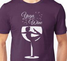 Yoga & Wine Unisex T-Shirt