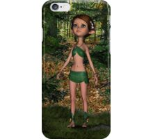 Forest Elf Girl iPhone Case/Skin