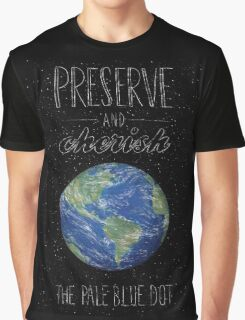 Pale Blue Dot Graphic T-Shirt