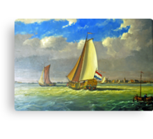 Sailing Dutchman Canvas Print