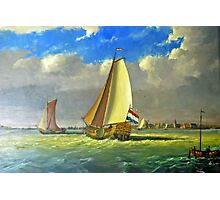 Sailing Dutchman Photographic Print