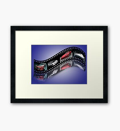 Sports Film1 Framed Print