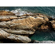 Italian Sea Rocks Photographic Print