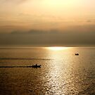 Italian Sunset and Fishing Boats by CeiraCrainer
