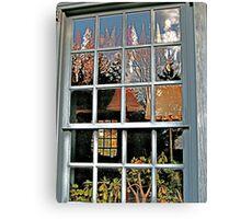 Window, Dey Mansion, Wayne NJ  Canvas Print