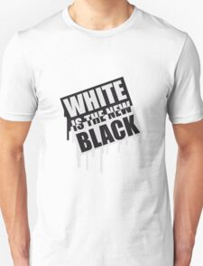 White Is The New Black Graffiti T-Shirt