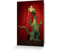 T-Rex in concert Greeting Card